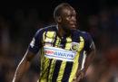 Usain Bolt smette di giocare a calcio