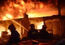 C'è stato un grosso incendio a Dacca