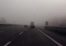 Sono stati chiusi alcuni tratti della A1 e della A22 per vari incidenti dovuti alla nebbia