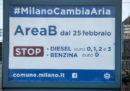 Da domani a Milano sarà attiva l'Area B
