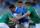 L'Italia è stata battuta 26-16 dall'Irlanda nella terza giornata del Sei Nazioni