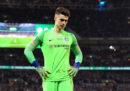Il portiere del Chelsea ha rifiutato la sostituzione nella finale di Coppa di lega inglese