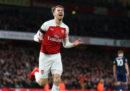 Aaron Ramsey, centrocampista gallese dell'Arsenal, sarà un giocatore della Juventus dall'1 luglio 2019