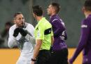 Il contestato rigore dato al minuto 100 in Fiorentina-Inter