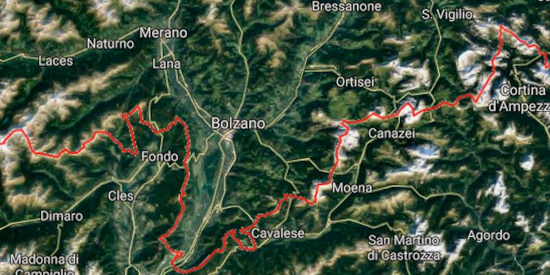 Regione Trentino Alto Adige Cartina Geografica.Trentino E Alto Adige Sono Due Posti Diversi Il Post