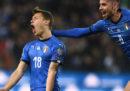 Ieri sera l'Italia ha battuto la Finlandia 2-0 nella prima partita di qualificazione per gli Europei di calcio del 2020