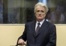 Radovan Karadžić ha fatto ricorso contro la condanna all'ergastolo