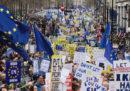 Le foto della manifestazione contro Brexit a Londra