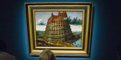 Una delle torri di Babele di Bruegel