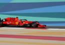 Charles Leclerc della Ferrari partirà in pole position nel Gran Premio del Bahrein di Formula 1