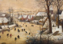 Dove Bruegel dipinse il curling