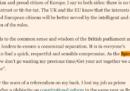 """Matteo Renzi ha citato le Spice Girls in un editoriale sul """"Financial Times"""""""