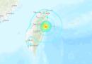 C'è stato un terremoto di magnitudo 6,1 a Taiwan