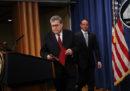Il procuratore generale degli Stati Uniti ha parlato con i giornalisti del rapporto Mueller, che sarà diffuso alle 17 ora italiana