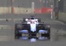 Le prove della Formula 1 a Baku sono state sospese per un tombino aperto