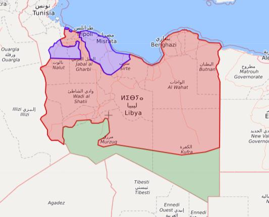 Libia Italia Cartina.Cosa Sta Succedendo In Libia Il Post