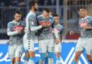 Napoli-Genoa in streaming e in tv