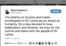 La polemica sui tweet di Obama e Clinton sullo Sri Lanka