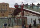 La criticata ovovia sul Ponte di Calatrava a Venezia potrà essere smontata