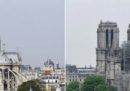 Le foto di Notre-Dame prima e dopo l'incendio