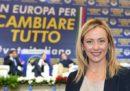 Il programma di Fratelli d'Italia per le elezioni europee 2019