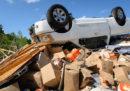 I danni dei tornado in Missouri e in Oklahoma