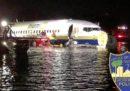 Un Boeing 737 è caduto in un fiume a Jacksonville, in Florida