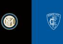 Inter-Empoli in TV e in diretta streaming