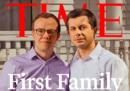 La copertina di TIME con Pete Buttigieg e suo marito