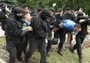 Circa 500 persone sono state arrestate mentre protestavano contro le elezioni in Kazakistan