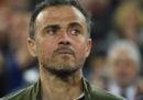 Luis Enrique non è più l'allenatore della nazionale spagnola di calcio