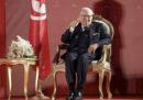 Il presidente tunisino Beji Caid Essebsi è stato ricoverato oggi per un grave malore