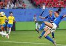 Italia-Brasile dei Mondiali di calcio femminili è stato il programma più visto ieri sera in tv, con 6,5 milioni di spettatori