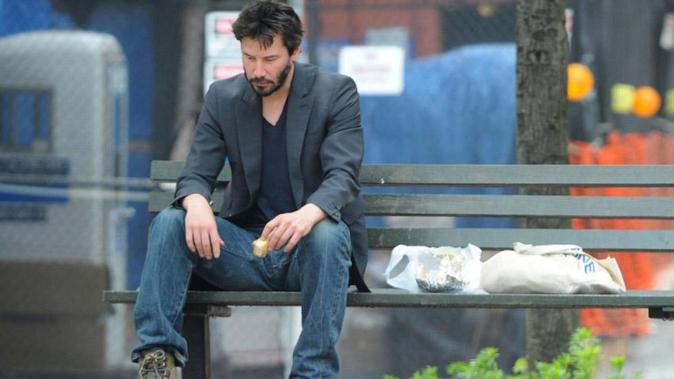 Sad Keanu Reeves