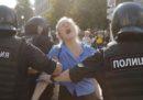 A Mosca più di 300 persone sono state arrestate durante una manifestazione per chiedere elezioni libere