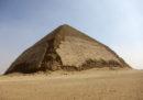 """La """"piramide piegata"""", in Egitto, adesso si può visitare"""