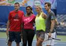 I tennisti Andy Murray e Serena Williams giocheranno insieme nel torneo di doppio misto a Wimbledon