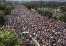 Una delle più grandi proteste di sempre a Porto Rico