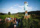 Non tutti sono contenti di questa statua di Melania Trump in Slovenia
