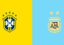 Brasile-Argentina, semifinale di Copa America, in TV e in streaming