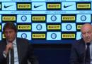 La conferenza stampa di Antonio Conte e Giuseppe Marotta sulla nuova stagione dell'Inter