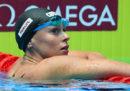 Federica Pellegrini ha vinto la medaglia d'oro nei 200 stile libero ai Mondiali di nuoto