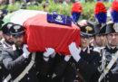 Le foto del funerale del carabiniere ucciso a Roma