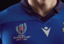 Le maglie dell'Italia di rugby per la Coppa del Mondo