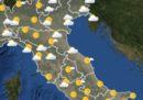 Le previsioni meteo per lunedì 22 luglio