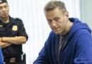 Il dissidente russo Alexei Navalny è stato ricoverato per una forte reazione allergica avuta mentre si trovava in carcere