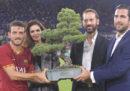 Il primo bonsai vinto dall'AS Roma