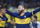 La prima partita – e il primo gol – di Daniele De Rossi con il Boca Juniors