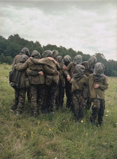 Soldati bambini per finta