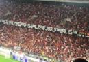 La partita di Ligue 1 di calcio fra Nizza e Marsiglia è stata sospesa per alcuni minuti per via di uno striscione e canti omofobi